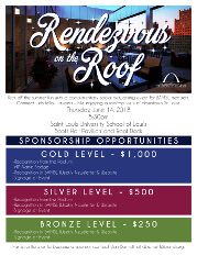 2018 Rendezvous on the Roof sponsorship flier