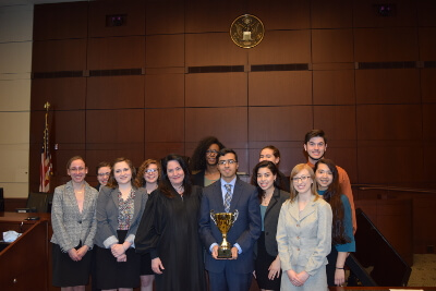 Truman High School (KC) won second place at the State Championship of the Missouri High School Mock Trial Competition