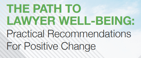 Report from the ABA's National Task Force on Lawyer Well-Being