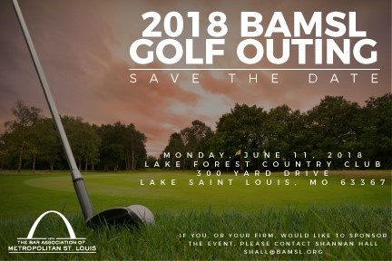 2018 BAMSL Golf Outing is June 11 at Lake Forest Country Club
