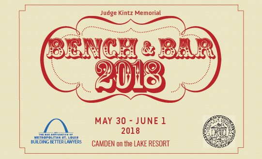 Judge Kintz Memorial Bench and Bar Conference 2018 is May 30-June 1