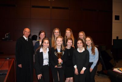 Cor Jesu Academy (STL) won second place at the State Championship of the Missouri High School Mock Trial Competition