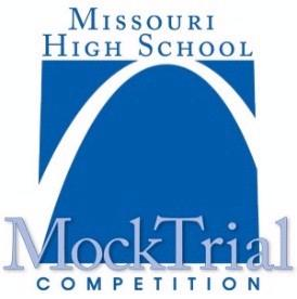 Missouri High School Mock Trial Competition logo