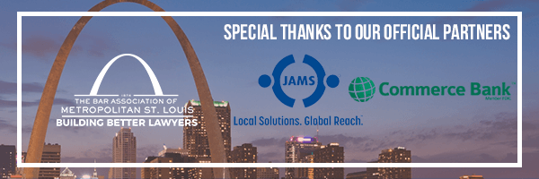 Thank you to BAMSL's Platinum Level Sustaining Partners, JAMS and Commerce Bank