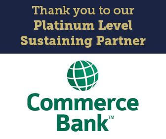 Thank you to our Platinum Level Sustaining Partner, Commerce Bank