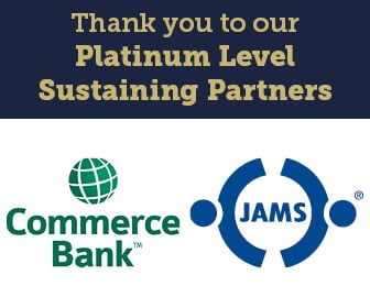 Thank you for our Platinum Level Sustaining Partners Commerce Bank and JAMS ADR