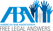 ABA Free Legal Answers program logo