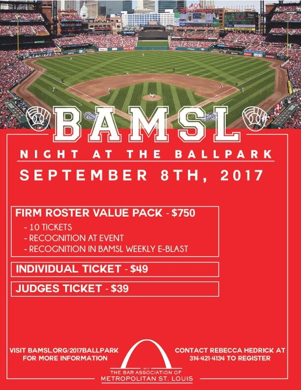2017 BAMSL Night at the Ballpark flyer