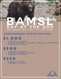 BAMSL Family Day at the Zoo 2017 Sponsorship Opportunities