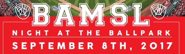 BAMSL Night at the Ballpark is September 8