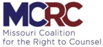 Missouri Coalition for the Right to Counsel logo