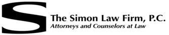 The Simon Law Firm PC logo